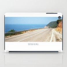 ROAD BLUE iPad Case