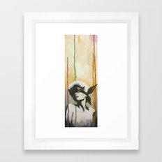 Beauty Is Blind Framed Art Print
