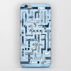 Which Way To The Bathroom? iPhone & iPod Skin