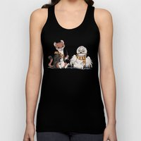 The Owl And The Weasel Unisex Tank Top