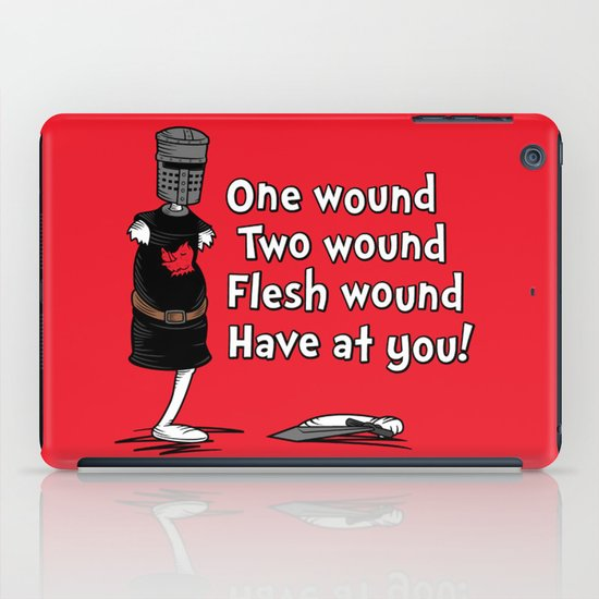 One Wound, Two Wound..... iPad Case