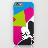 iPhone & iPod Case featuring Black Flying by Selecto