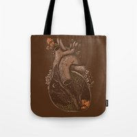 In The Heart Of The Wood… Tote Bag