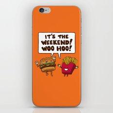 The Weekend Burger iPhone & iPod Skin