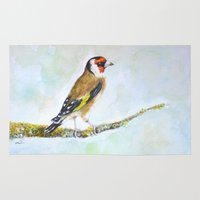European Goldfinch On Tr… Rug