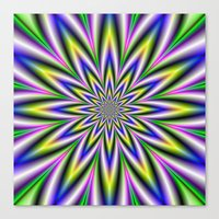 Twelve Pointed Star Canvas Print