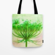 Queen Anne lace Tote Bag