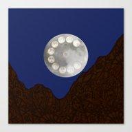 Adele's Moon Canvas Print