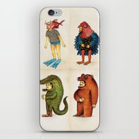 Costumes - Animalados iPhone & iPod Skin