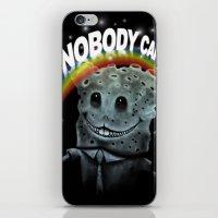 Nobody Cares iPhone & iPod Skin