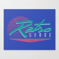 Retro Grade Canvas Print