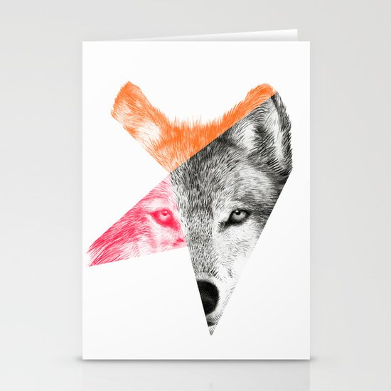 Wild - by Eric Fan and Garima Dhawan Stationery Card