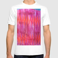 Ziggy White SMALL Mens Fitted Tee