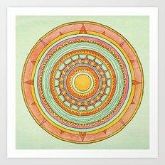 Sundial Art Print