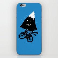 Mountain Biking iPhone & iPod Skin