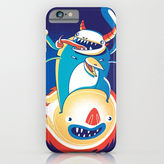 Monsteroid! iPhone & iPod Case