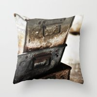 Boxes Throw Pillow