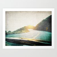 Letters From The Road 2 Art Print
