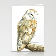 Barn Owl Stationery Cards