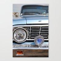 sweet vintage car Canvas Print