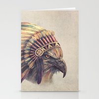 Eagle Chief  Stationery Cards