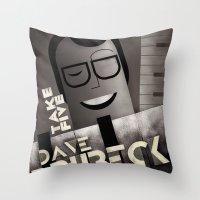 CASSANDRE SPIRIT - Dave Brubeck Throw Pillow