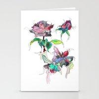 Rose. Stationery Cards