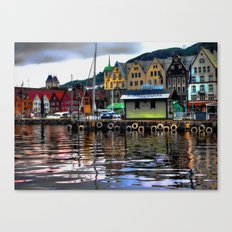 Bryggen Canvas Print
