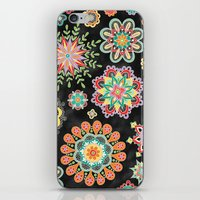 Folky Flora iPhone & iPod Skin