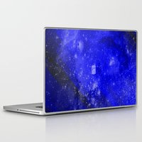 doctor who Laptop & iPad Skins featuring Doctor Who by Fimbis