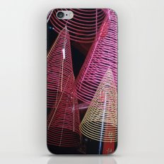 RED SPIRALS - Vietnam - Asia iPhone & iPod Skin
