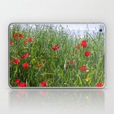 Poppy Meadow Laptop & iPad Skin