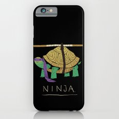 ninja - purple iPhone 6 Slim Case