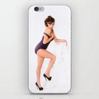 Pin-Up Girl iPhone & iPod Skin