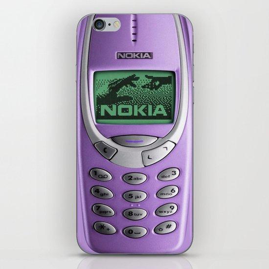 OLD NOKIA Purple iPhone & iPod Skin