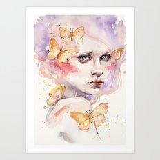 All A Flutter Art Print