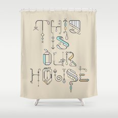 This Is Our House Shower Curtain