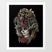 Day Of The Dead (Ancient… Art Print