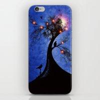 Raven Christmas II - HOL… iPhone & iPod Skin