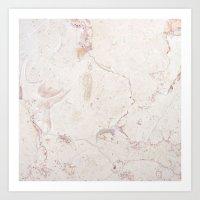 No Marbles Left Art Print