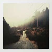 Transmission Canvas Print