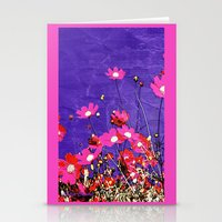 Coquetry floral Stationery Cards