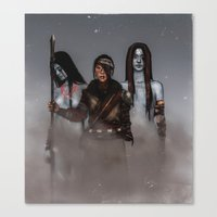 Survivor.  Canvas Print