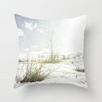{ GRASSY PERSPECTIVE } Throw Pillow