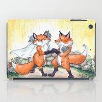 Fox Wedding  iPad Case