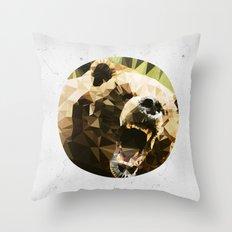 Ursus Arctos Throw Pillow