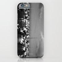 Boats On The Horizon iPhone 6 Slim Case