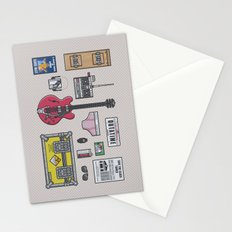 Back to the future - Essential items Stationery Cards