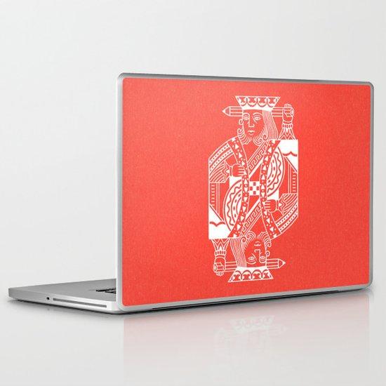 Creativity Is King Laptop & iPad Skin