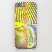 iPhone & iPod Case featuring Geometric Bursts by Michael Ziegenhagen